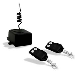gbs elettronica kit ricevitore da interno + 2 radiocomandi 2171