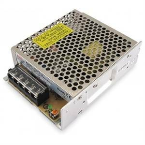 alpha elettronica alimentatore industriale switching industriale 75w - 12v uscita fissa 6 a pu075-12