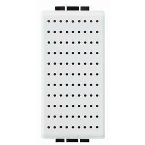 bticino livinglight ronzatore 12vac 5va colore bianco n4356/12