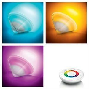philips consumer lampada led trasparente cambiacolore livingcolors conic seconda generazione 6916660ph