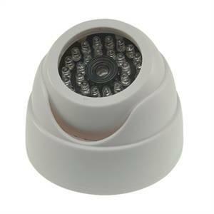 elettroservice telecamera finta dome con 30 led cs908