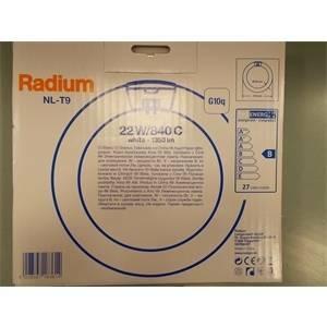 osram lampadina circolina fluorescente nl-t9 22w d20 luce naturale l22840cra