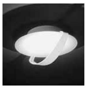 nobile illuminazione applique/plafoniera led 18w luce calda colore bianco dl002/bi