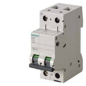 siemens interruttore magnetotermico modulare 6ka 2p 20a 5sl6220-7 5sl62207bb