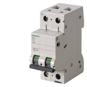 siemens interruttore magnetotermico modulare 6ka 2p 40a 5sl62407bb
