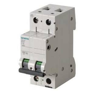 siemens interruttore magnetotermico modulare 6ka 2p 63a 5sl62637bb