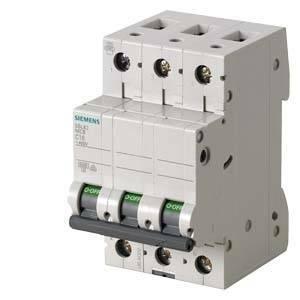 siemens interruttore magnetotermico modulare 6ka 3p 6a 5sl6306-7bb