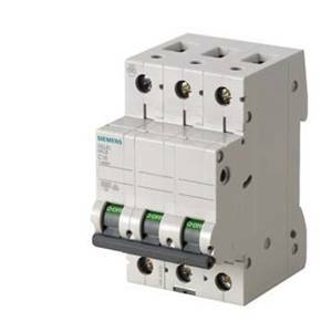 siemens interruttore magnetotermico modulare 6ka 3 poli 10a 5sl6310-7bb