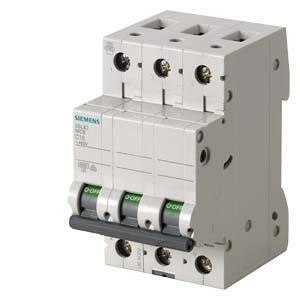 siemens interruttore magnetotermico modulare 6ka 3 poli 50a 5sl6350-7bb
