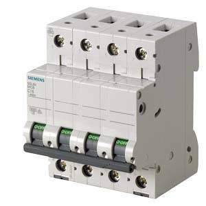 siemens interruttore magnetotermico modulare 6ka 4 poli 20a 5sl6420-7bb