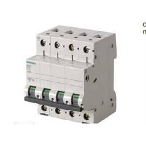 siemens interruttore magnetotermico icn 6000a icu 6ka 4p 63 5sl64637bb