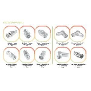 micro tek adattatore coassiale transizione 90° fm - ff cc99900600