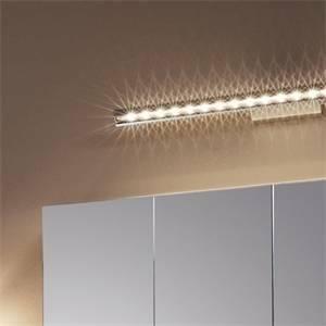 eglo applique terros per specchio in alluminio a led 10,5w luce calda 93665