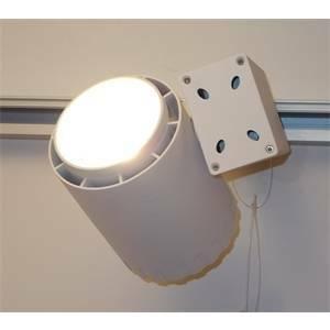nobile illuminazione proiettore led su binarario 40w ip20 r41/3k/33