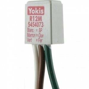 yokis urmet interfaccia per doppio pulsante confezione da 5 pezzi r12m 5454073