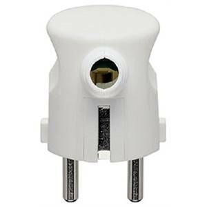 vimar spina 2p+t 16a combinata standard tedesco e francese s31 uscita cavo 90° colore bianca 0a00241b