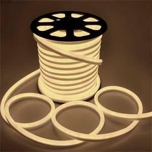 giocoplast led neon flex bifacciale colore bianco caldo 5mt 16813151