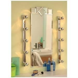 paulmann 5 faretti spot mirror regula cromo galeria 40w e14 230v 99680 996.80