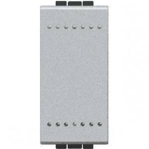bticino light tech interruttore 1 poli 16a grigio nt4001n