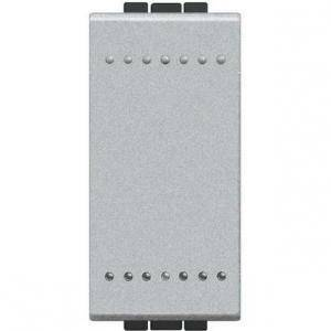 bticino bticino light tech pulsante 1 polo 10a grigio nt4005n