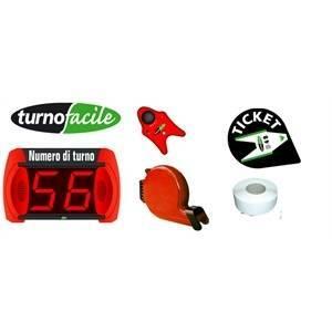 visel italiana visel italiana kit eliminacode con display 2 cifre turnofacile