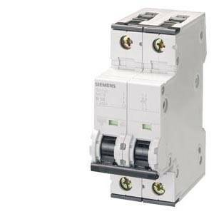siemens siemens interruttore magnetotermico  2 poli 6a 10ka 5sy4206-7