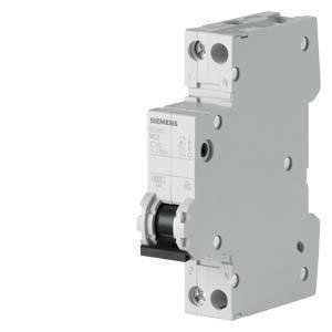 siemens interruttore magnetotermico 1p+n 6a 5sy6006-7