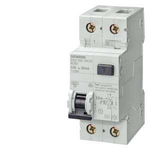 siemens siemens interruttore magnetotermico differenziale 1p+n c16a 6ka 5su13561-kk16