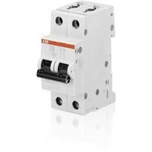 abb interruttore magnetotermico 2p 20a 6ka s466004 s 202- c20 2cds252001r0204