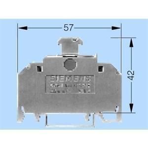 siemens siemens morsetto porta fusibile 1,5mmq 8wa10111sf12