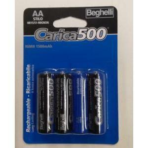 beghelli beghelli batterie stilo aa ricaricabile 1,2v 8851