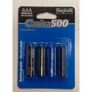beghelli beghelli batterie ministilo aaa ricaricabile 1,2v 8852