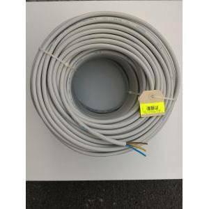 cavi 100 metri cavo fror 3x1.5, 3 conduttori da 1.5mm di sezione con giallo verde