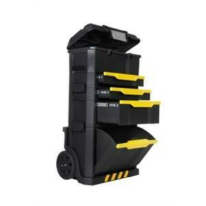 stanley stanley mobile 3 in 1 con rotelle rolling workshop 1-79-206