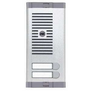 urmet pulsantiera 2 pulsanti con 1 fila predisposto per uso esterno 925/102