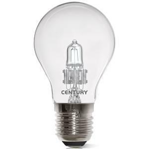century lampadina alogena goccia 28w attacco e27 luce calda argo-2827sc