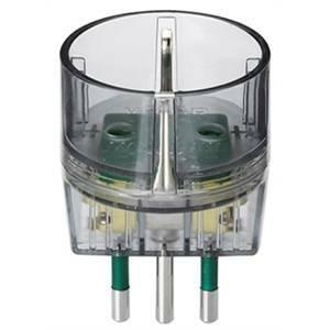 vimar adattattatore 2p+t 16a p30 colore trasparente 0a00302f