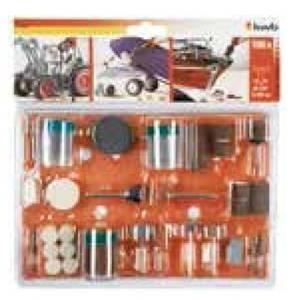 einhell italia set 105 mini accessori per smerigliatrice a stelo 510900
