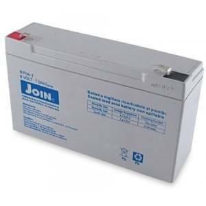 alpha elettronica batteria al piombo 6v 7ah con fasto bp06-7