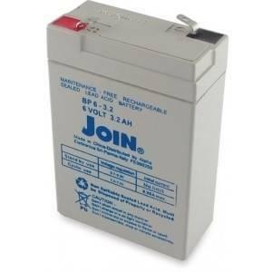 alpha elettronica batteria al piombo 6v 3,2a con fasto bp06-3,2