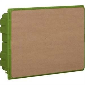 bticino linea space - scatola da incasso 12 moduli colore verde f315sc12