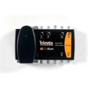 televes televes centralino minikom a 4 ingressi e 1 uscita con guadagno selezionabile 539201
