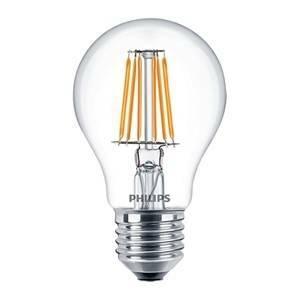 philips lampadina led filamento 7w attacco e27 luce calda philed60