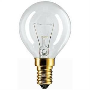 philips lampada incandescente sfera 40w attacco e14 per forni for40sfemgb1