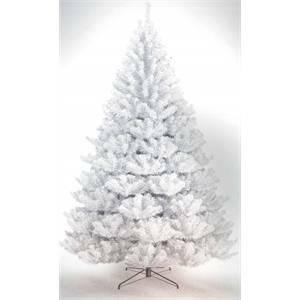 Foto Alberi Di Natale Bianchi.Albero Di Natale Zar Della Steppa Bianco Cm 200 29000243