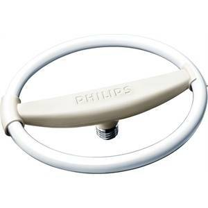 philips lampadina circolare fluorescente 25w attacco e27 luce calda  tle25e27