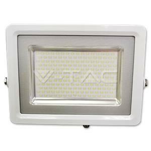 v-tac proiettore led ultrapiatto colore bianco 100w luce naturale 5686