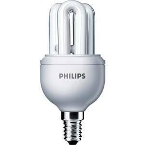 philips lampadina fluorescente attacco piccolo e14 8>40w luce calda gen8e14