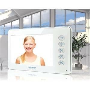 avidsen monitor aggiuntivo per videocitofoni serie ylva 112236