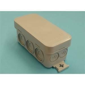 rosi materiale elettrico scatola di derivazione 90x43x39 ip55 rs13301
